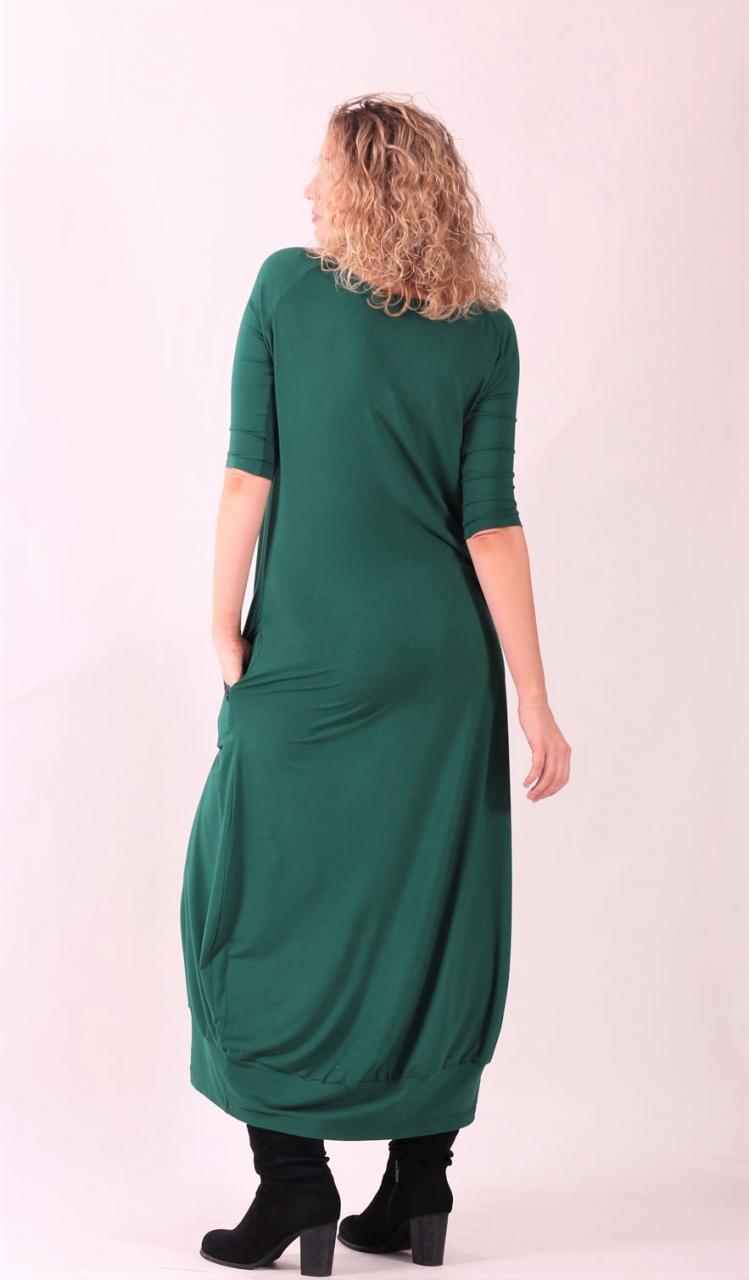 ... Šaty s balonovou sukní zelené dlouhé ... c8e24430680